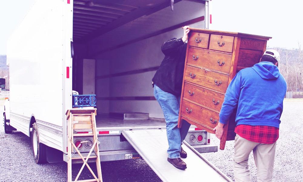 17 Местене на самообслужване – как се товари камион-мебеловоз