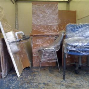 Опаковане и транспорт на офис мебели.