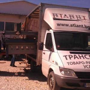 Странично товарене на плотер и транспорт.