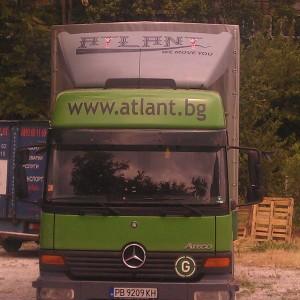Транспорт услуги с камион до 8 т, брезент и падащ борд.